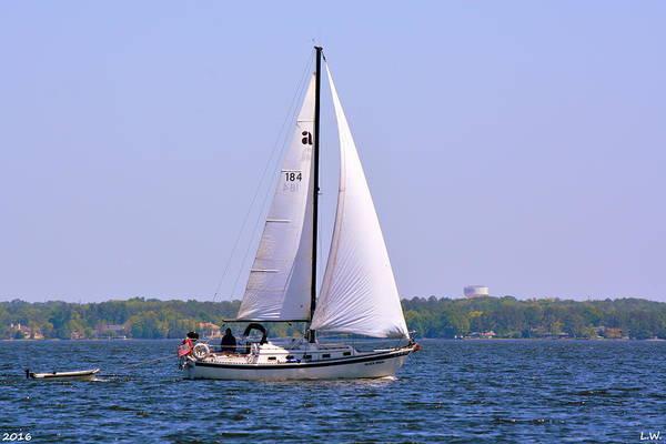 Photograph - Sailboat  by Lisa Wooten