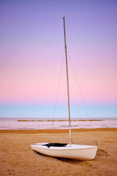 Photograph - Sailboat On A Shore by Fabrizio Troiani