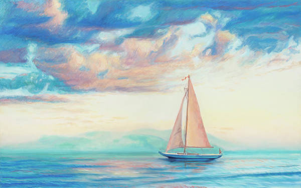 Painting - Sailboat by Rachel Ramm Woodward