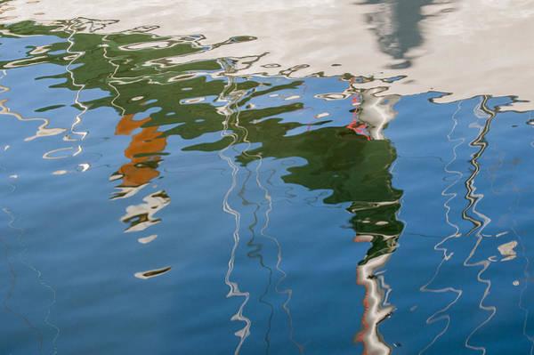 Photograph - Sailboat Reflection by Robert Potts