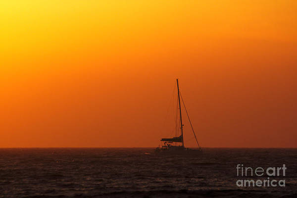 Photograph - Sailboat Waiting by Jeremy Hayden