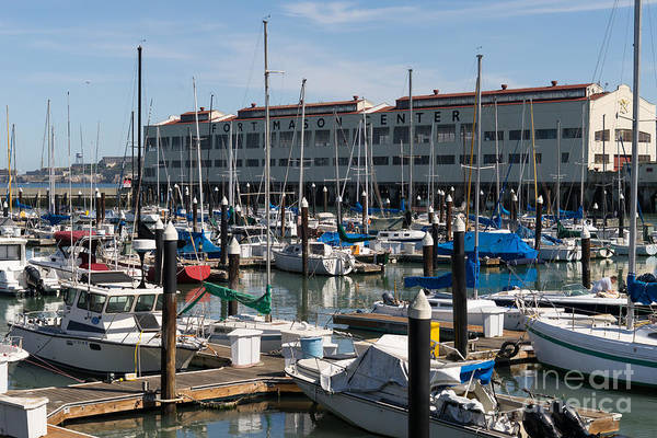 Photograph - Sailboats At Fort Mason Gashouse Cove East Harbor San Francisco California Dsc3138 by Wingsdomain Art and Photography