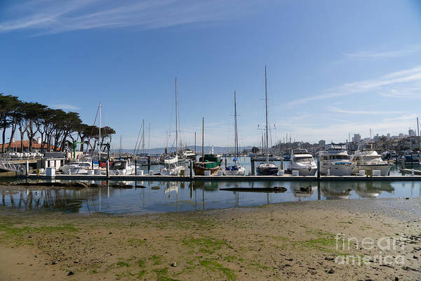 Photograph - Sailboats At St Francis Yacht Club Harbor San Francisco California Dsc3092 by Wingsdomain Art and Photography