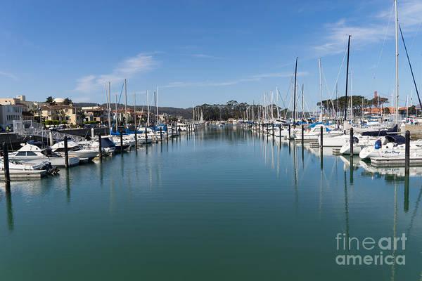 Photograph - Sailboats At St Francis Yacht Club Harbor San Francisco California Dsc3109 by Wingsdomain Art and Photography