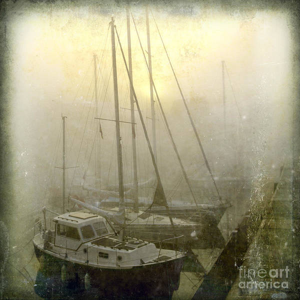 Sail Boat Photograph - Sailboats In Honfleur. Normandy. France by Bernard Jaubert