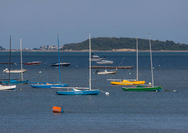 Photograph - Sailboats In Quincy Bay by Brian MacLean