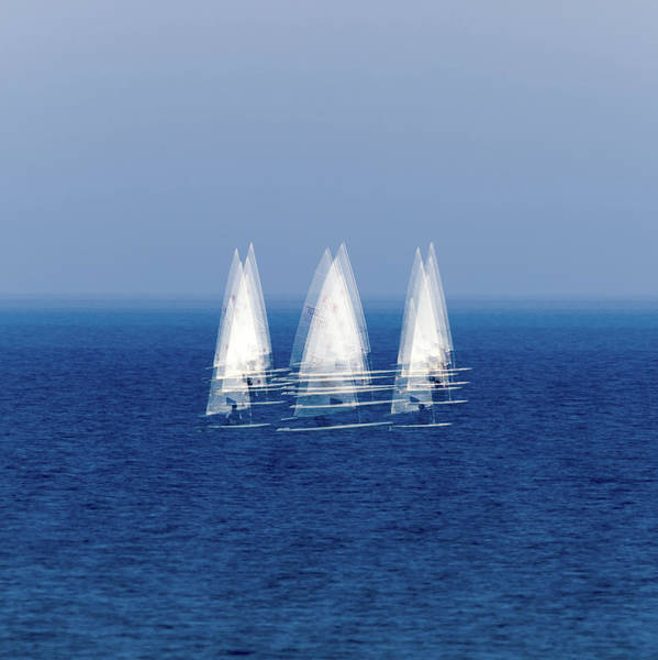 Wall Art - Photograph - Sailboats by Stelios Kleanthous