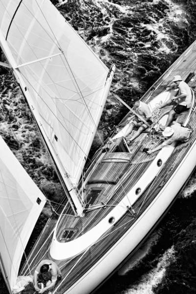 Photograph - Sailing A Classic by Gary Felton