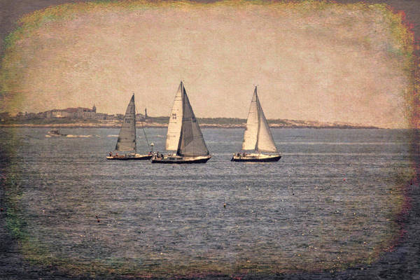 Photograph - Sailing  by Betty Pauwels