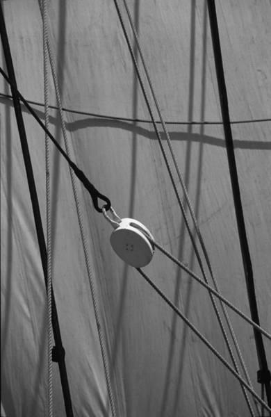 Photograph - Sailing Block by David Shuler