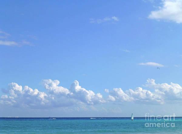 Photograph - Sailing Blue Seas by Francesca Mackenney