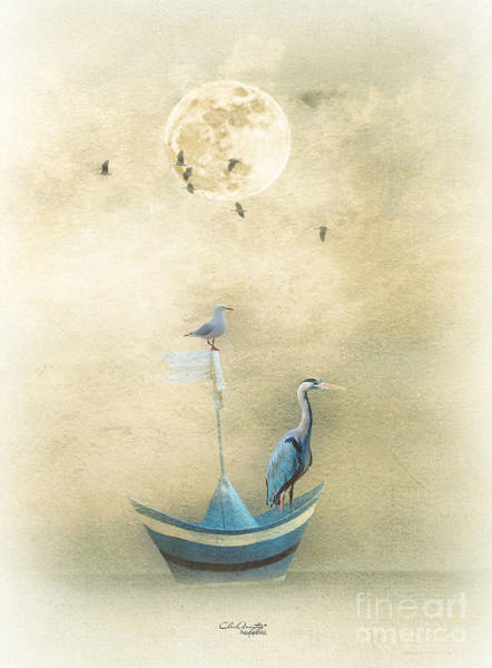 Painting - Sailing By The Moon by Chris Armytage