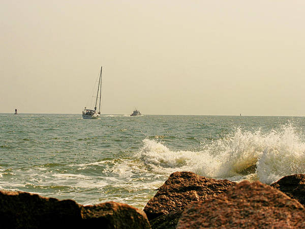 Photograph - Sailing by Charles McKelroy