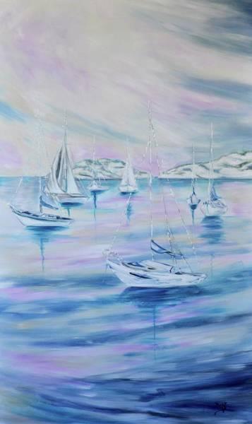 Wall Art - Painting - Sailing by Debi Starr
