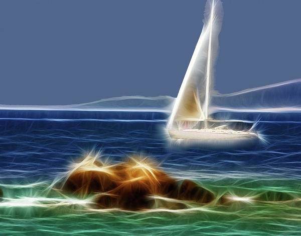 Photograph - Sailing In A Dream by Coleman Mattingly