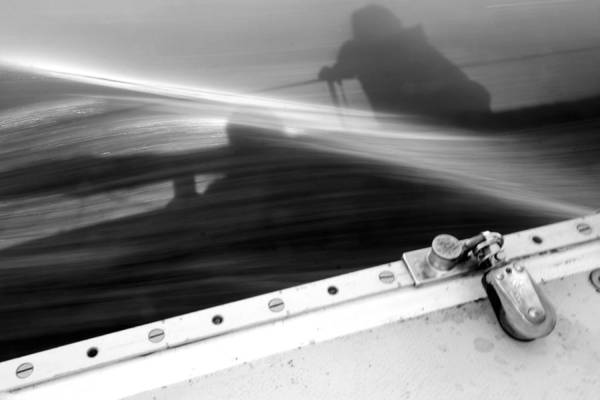 Photograph - Sailing In Black And White by Patricia Strand