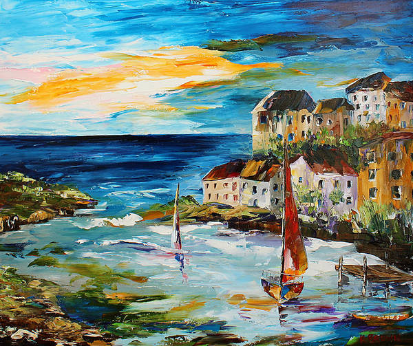 Painting - Sailing In Greece by Kevin Brown