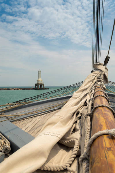Photograph - Sailing In Port by James  Meyer