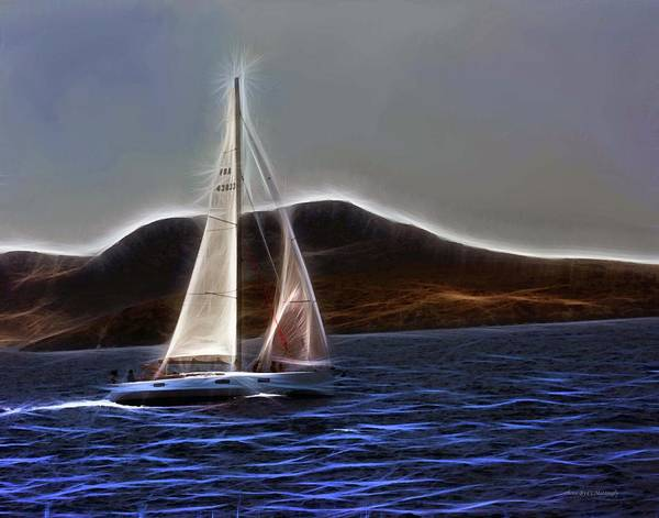 Photograph - Sailing In The Agean by Coleman Mattingly