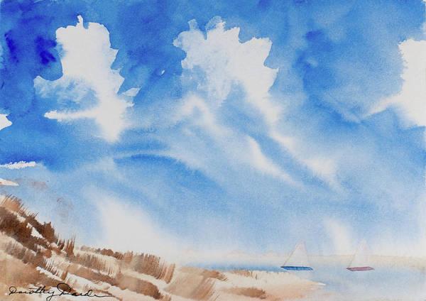 Fine Coastal Cruising Art Print