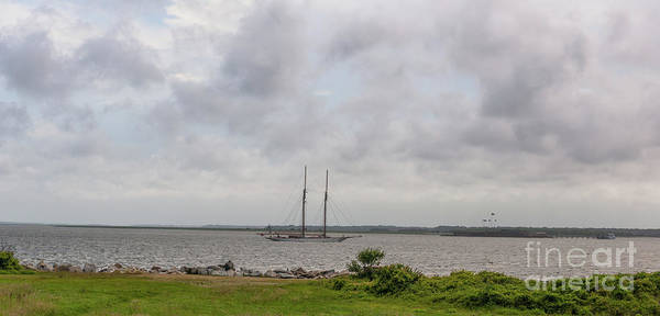 Photograph - Sailing Into Charleston Sc by Dale Powell