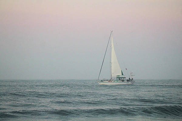 Photograph - Sailing Into Dawn by Robert Banach