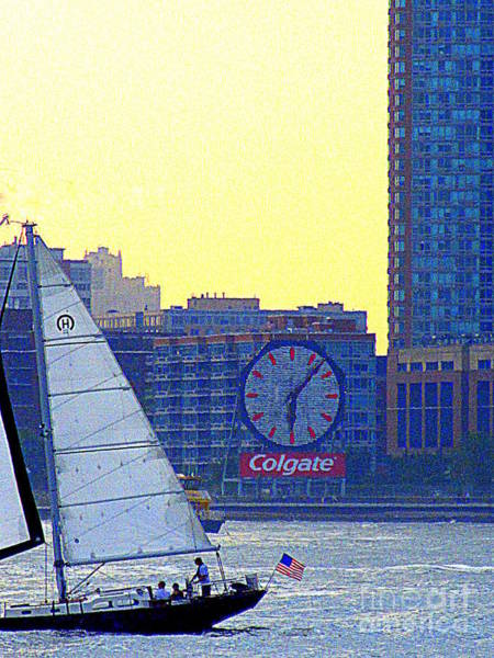 Colgate Wall Art - Photograph - Sailing Into The Colgate Sunset by Randall Weidner