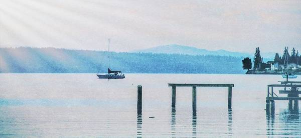 Dock Of The Bay Photograph - Sailing Into The Light by Dan Sproul