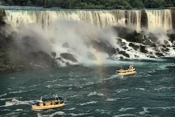 Niagara Falls State Park Photograph - Sailing Into The Mist by Adam Jewell