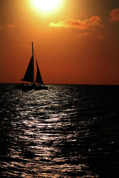 Photograph - Sailing Into The Sunset by Kevin Banker