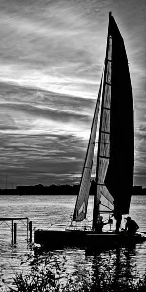 Photograph - Sailing - Lake Monona - Madison - Wisconsin 2 by Steven Ralser