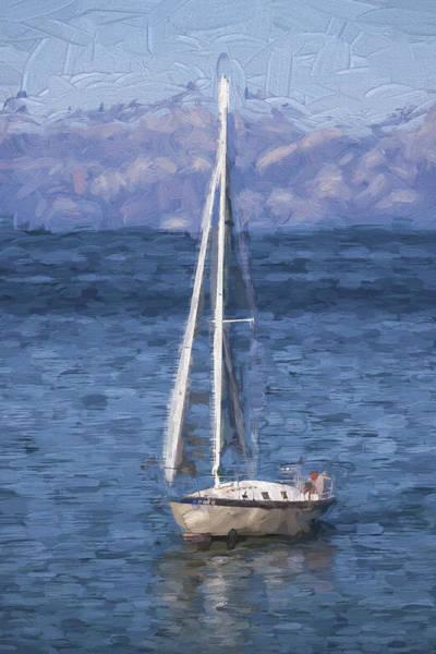 Sailing Wall Art - Photograph - Sailing Lake Tahoe by Carol Leigh