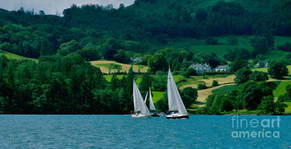 Photograph - Sailing Lake Windermere by Lance Sheridan-Peel
