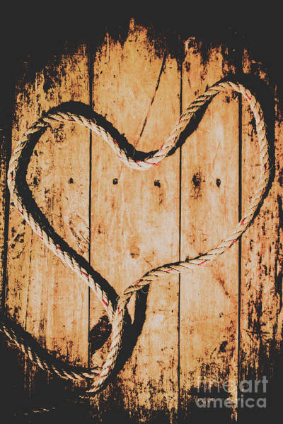Wood Planks Photograph - Sailing Love With No Strings Attached by Jorgo Photography - Wall Art Gallery