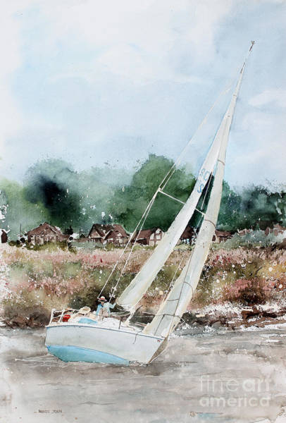 Painting - Sailing by Monte Toon