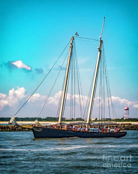 Photograph - Sailing Of America by Nick Zelinsky