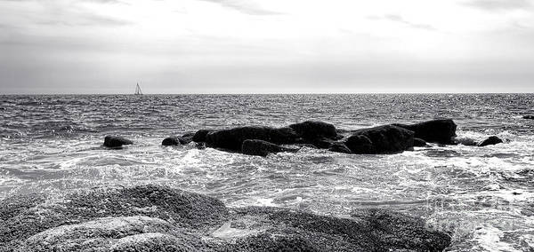 Photograph - Sailing Off The Coast Of Maine by Olivier Le Queinec