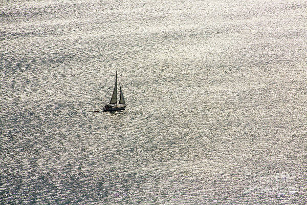 Wall Art - Photograph - Sailing On A Shimmering Sea by Sheila Smart Fine Art Photography