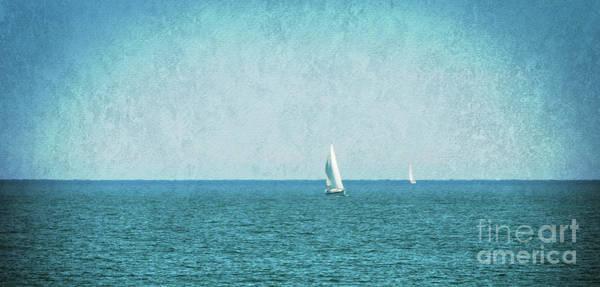 Wall Art - Photograph - Sailing On Lake Michigan - Sheboygan by Mary Machare
