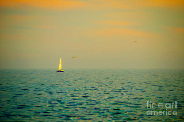 Wall Art - Photograph - Sailing On The Great Lakes by Mary Machare