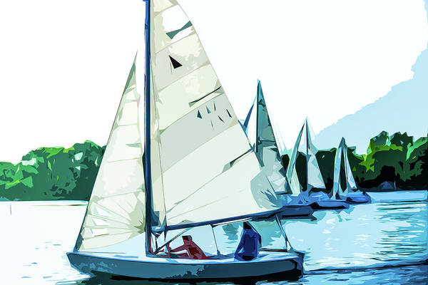 Photograph - Sailing On The Ottawa River by Michael Arend