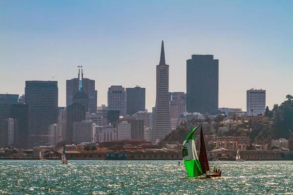 Photograph - Sailing San Francisco Bay 1 by Bonnie Follett