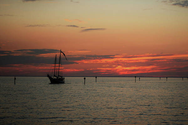 Photograph - Sailing Sunset by Keith Smith