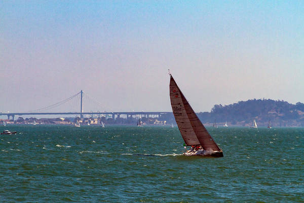 Photograph - Sailing Takes You Away by Bonnie Follett