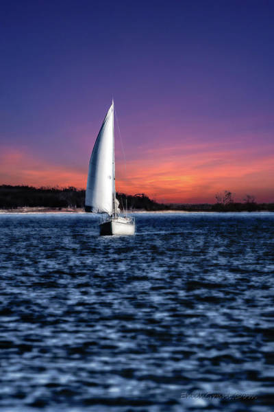 Photograph - Sailing Texoma Shores by Erich Grant