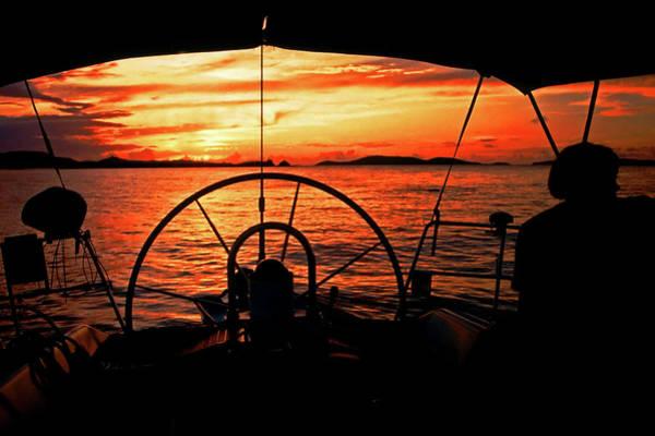Photograph - Sailing The Islands, Usvi by Bill Jonscher