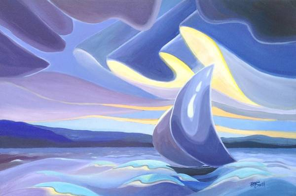 Painting - Sails by Barbel Smith
