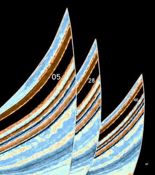 Borden Digital Art - Sails by Will Borden