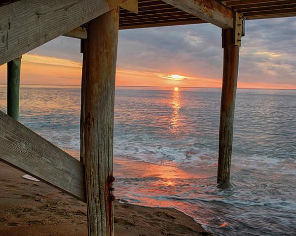 Photograph - Sailsbury Beach At Sunrise Salisbury Ma by Toby McGuire
