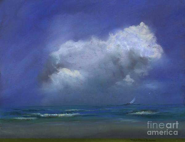 Pastel - Sailscape by Robin Maria Pedrero